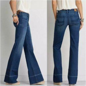 NWT American Eagle Super Stretch A-line Jeans